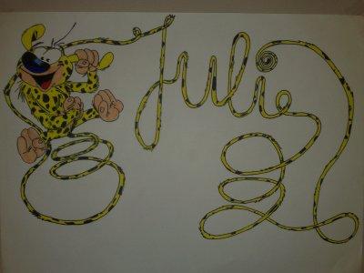 dessin pour la belle julie