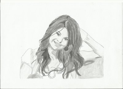 Dessin Realiste Enfin Je L Espere De Selena Gomez Blog De Tatien94550