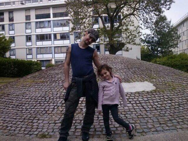 Ma niece et moi ;-)