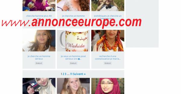 Annonce  de mariage  en Europe  sur  le  site