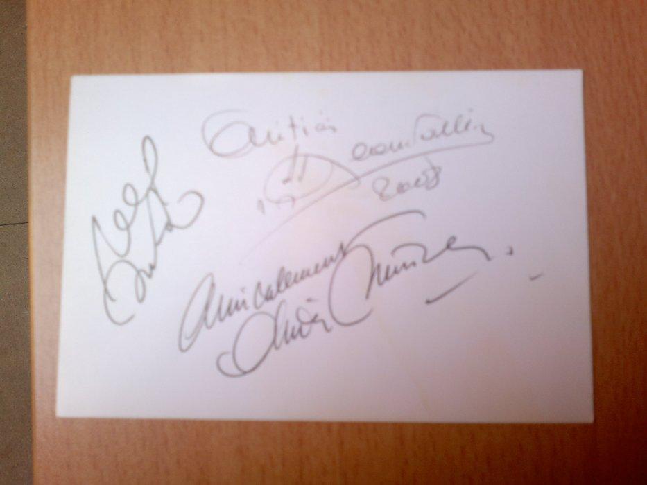 Autographe-mania