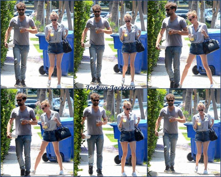 Diane et Joshua à Los Angeles