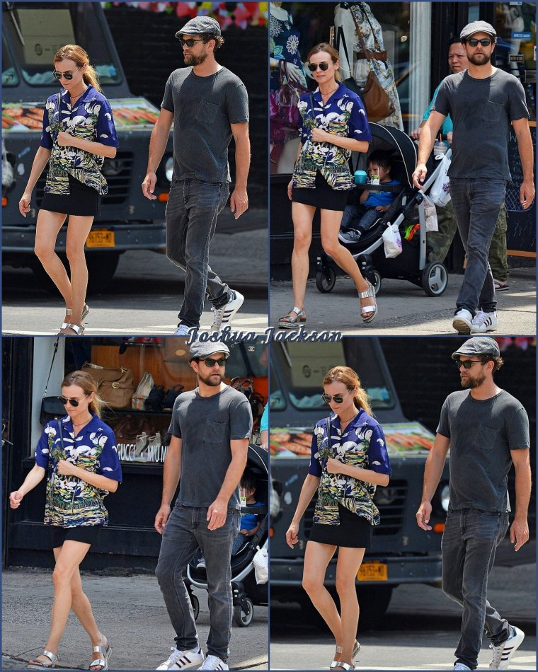 Joshua et Diane à New-York