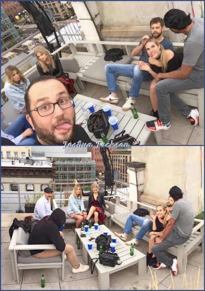 Joshua  avec des amis