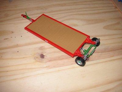 claas arion 640 (new design) et plateau porte outils RPM + ford 5000 modifié