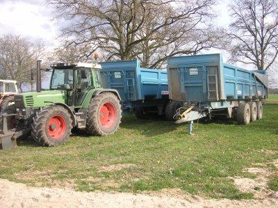 le matériel de la ferme