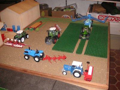 L'agrandissement de ma ferme (pas encore finit)