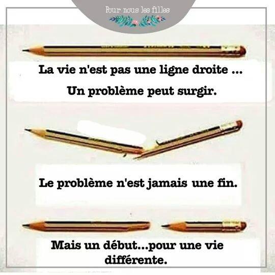 Un crayon... et une belle moralité...