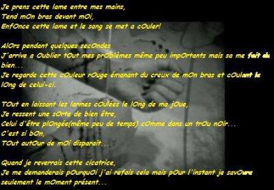 Poème de Suicide ( 2 )