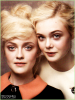 PrettyFanning Photoshoot_.V O G U E__Nouvelle photo de  Dakota et sa soeur Elle. pour le magazine Vogue US.   PrettyFanning