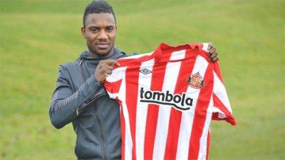 SESSEGNON pour ses grands débuts à Sunderland!