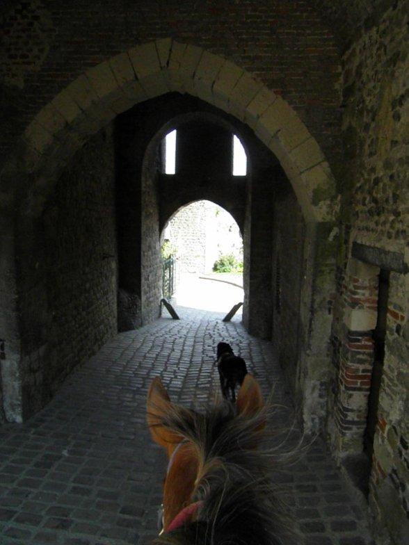 découverte de st valéry à cheval