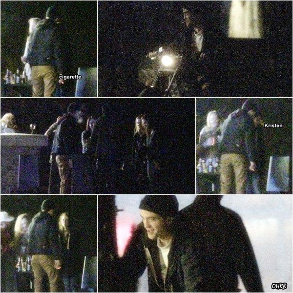 ____ 09 Avril 2011 | Robert était à la fête d'anniversaire de Kristen ! ____