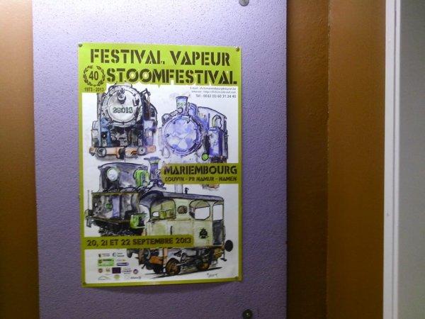 """Festival de la Vapeur : Spécial : """" 40e anniversaire du CFV3V """""""