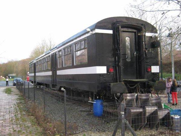 voiture M2 train vedette