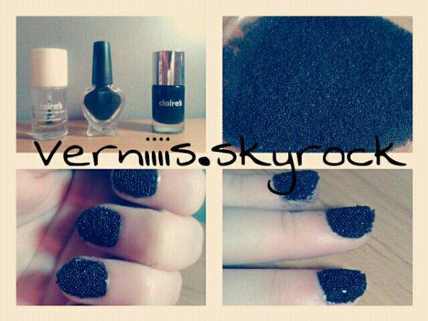 vernis caviar