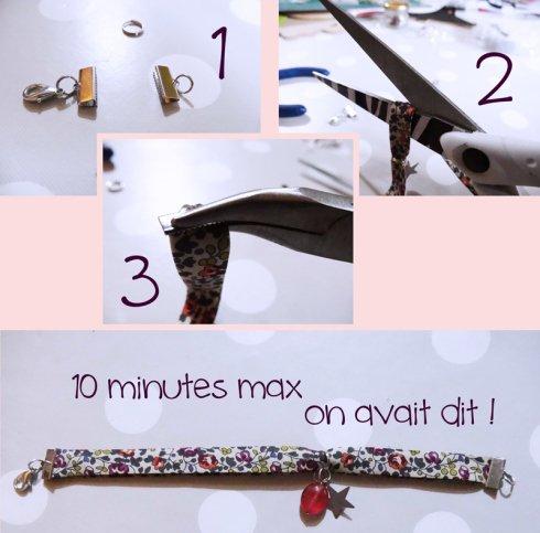 DIY #1 : le bracelet LIBERTY