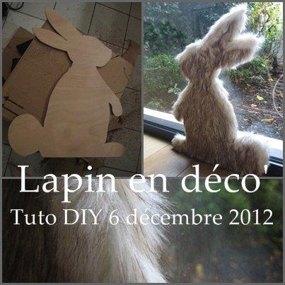 Tuto DIY #3 : Un lapin en fourrure