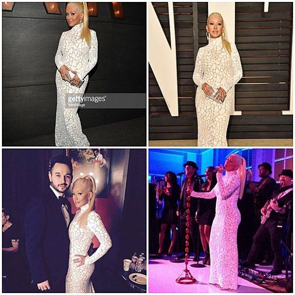 22 Février 2015 : Vanity Fair Oscars After Party
