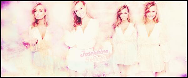 _   ●●● Bienvenue sur JosephineSkriver,votre source d'actu' sur la  modèle de  Victoria's Secret ○  Josephine Skriver. → A travers de multiples candids, events et photoshoots , suis le train-train quotidien de l'irrésistible modèle danoise__Josephine Skriver   _