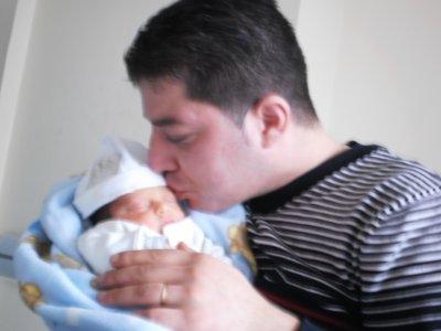 ali avec son papa