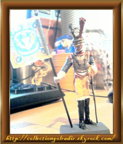 Une belle figurine de cuirassier