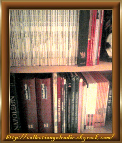 Quelques uns de mes livres