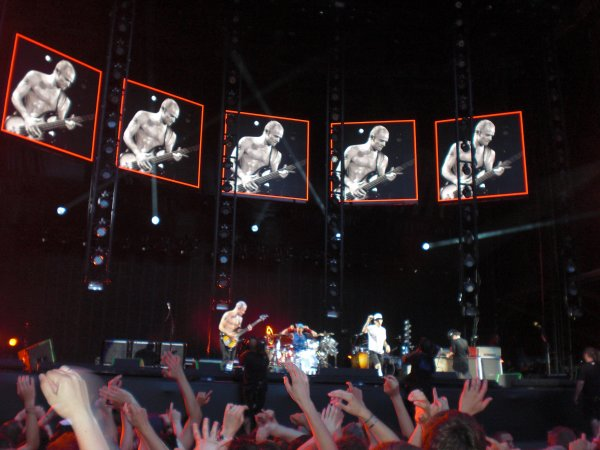 Red Hot Chili Peppers au Stade de France quoi !