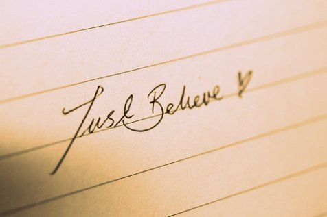 believe & fight. life is great ;)
