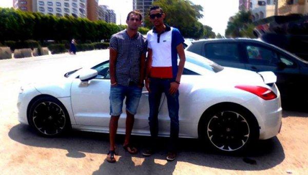 avec cousin Zaki RCZ