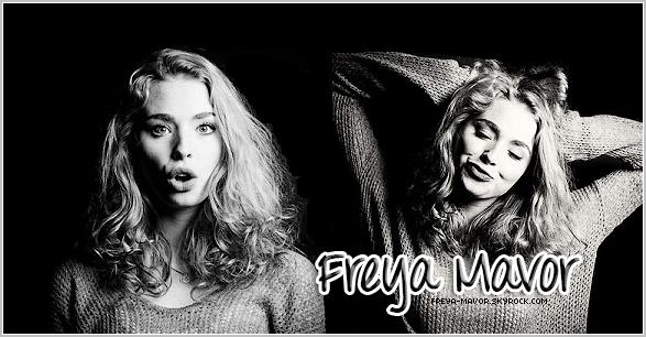 . Bienvenue sur ta source sur la talentueuse et pétillante Freya Mavor ! FREYA-MAVOR ◆ SKYROCK.COM FREYA-MAVOR Sur ce blog, tu pourra découvrir toute son actualité à travers des candids, photoshoots, appearences... .