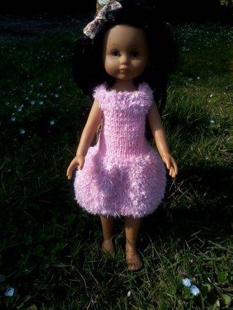 robe rose chérie de corolle.