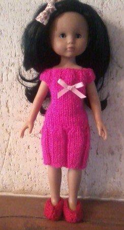 tuto robe à plis pour poupée chérie de corolle