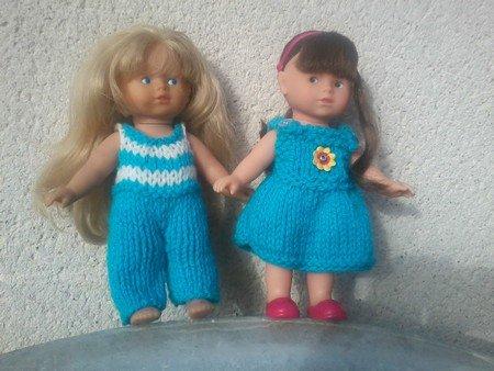 les 2 demoiselles corolline.