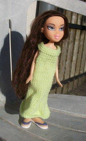 robe longue pour poupée Bratz