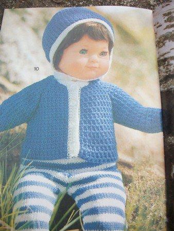 tuto veste au crochet poupée de 37 ( 45 ) cm