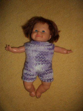 combishort petite poupée.