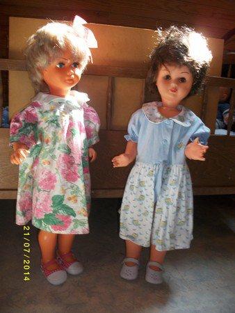 poupées relookées