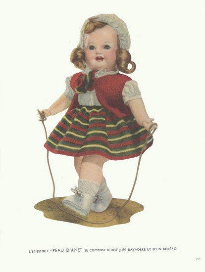 tuto poupées année 50.