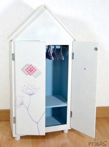 tuto armoire en bois pour poup es blog de. Black Bedroom Furniture Sets. Home Design Ideas