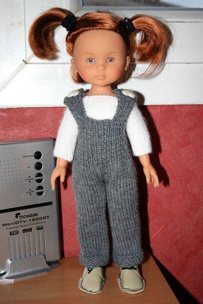 tuto tricot salopette pour chérie