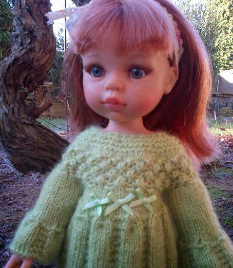 tuto tricot: robe