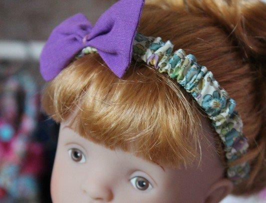 tuto couture: bandau pour poupée.