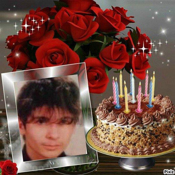 anniversaire de mon fils Johnny.