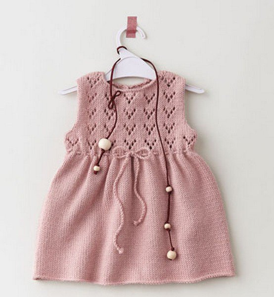 robe layette tricot