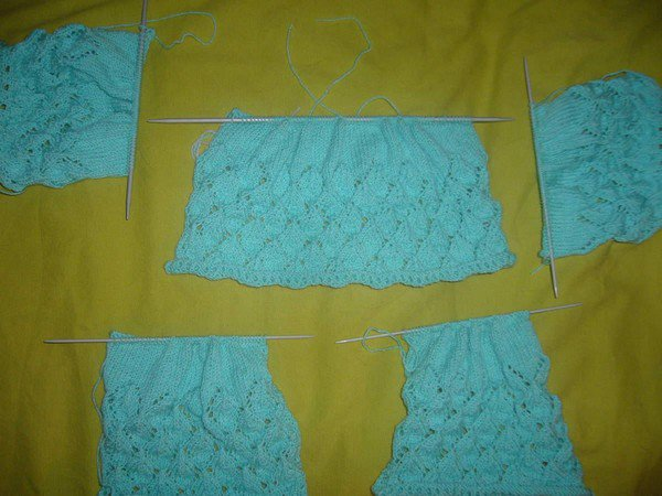 tuto tricot : brassière ajourée