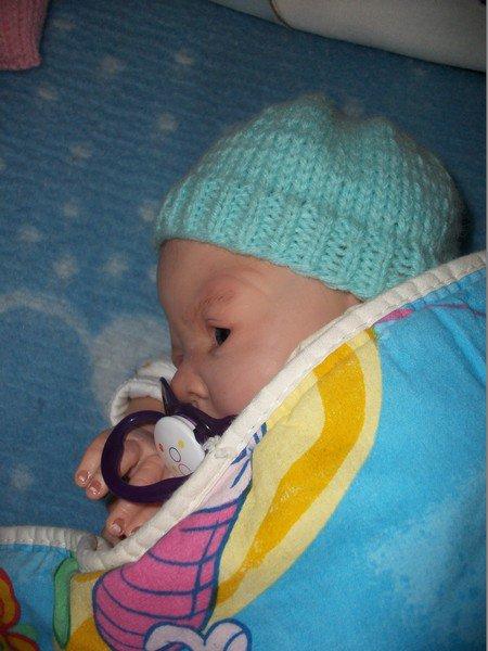 petit Luka s'est endormi.
