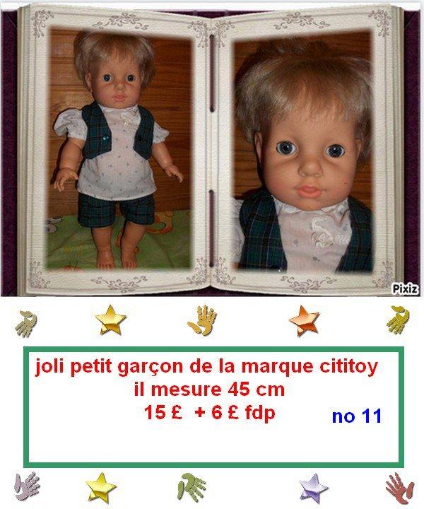 suite vente poupées