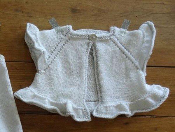 tuto tricot : cardigan Stella