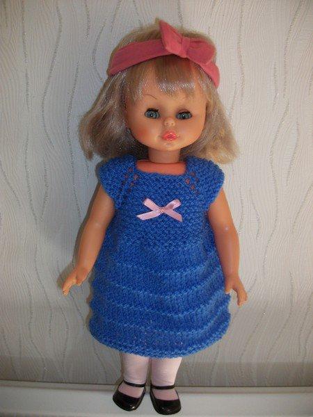 robe identique pour poupée de taille différente